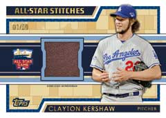 2014 Topps Update All-Star Stitches Kershaw