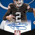 Autographed Johnny Manziel football card