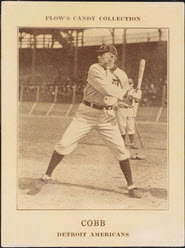 1912 Plows Candy Ty Cobb
