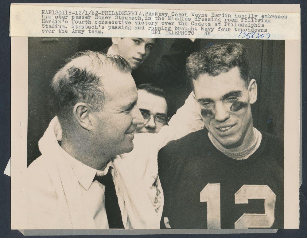 Coach Wayne Hardin Roger Staubach 1962