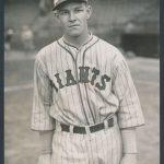 1927 Mel Ott photograph New York Giants