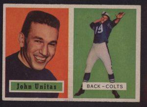 Johnny Unitas 1957 Topps