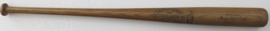 Babe Ruth bat 1932