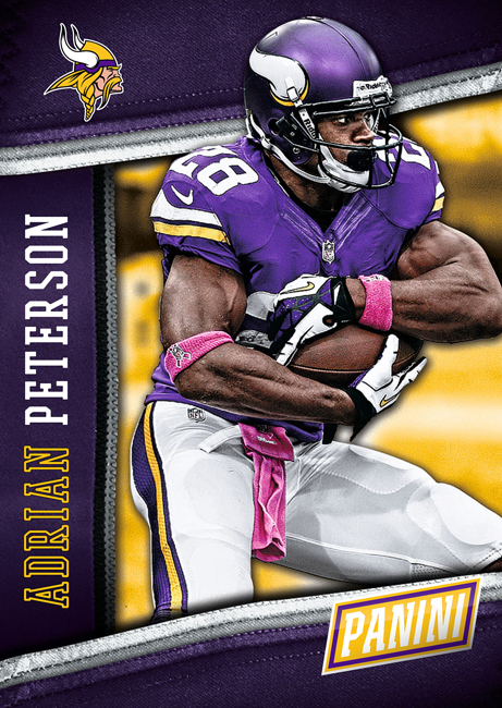 Adrian Peterson 2014 National Convention Panini
