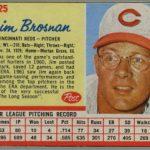 1962 Post Jim Brosnan