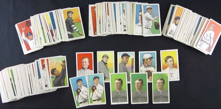 1909-1911 tobacco cards T206
