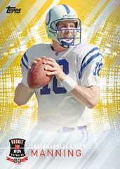Peyton Manning 2014 Topps NFL Rookie Premiere