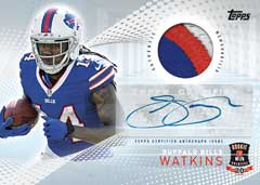 2014 Topps NFL Rookie Premiere Sammy Watkins auto relic