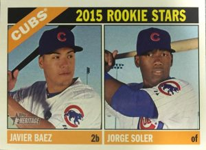 2015 Topps Heritage Cubs Rookies