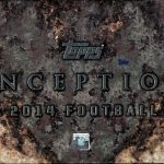 Topps 2014 Inception Football box