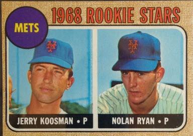 Nolan Ryan 1968 Topps