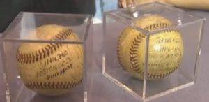 Vander Meer no-hitter baseballs