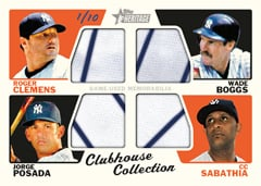 Clubhouse Collection Relic 2015 Topps Heritage