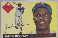 1955 Topps Jackie Robinson