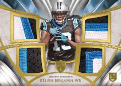 Rookie quad relic patch Kelvin Benjamin