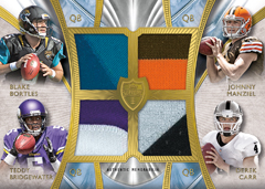 Topps 2014 Supreme Football Rookie Quad Combo Patch