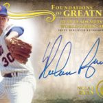 Nolan Ryan signed 2015 Topps Tribute Foundations of Greatness