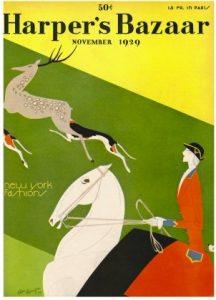 July 1930 Harper's Bazaar magazine cover
