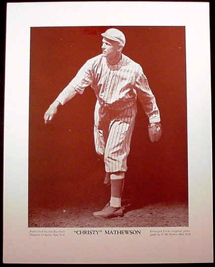 The Baseball Magazine Premiums and many other premiums are relief prints.