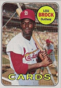 Lou Brock 1969 Topps