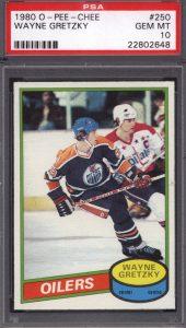 PSA 10 OPC 1980-81 Gretzky