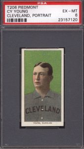 Cy Young T206 portrait
