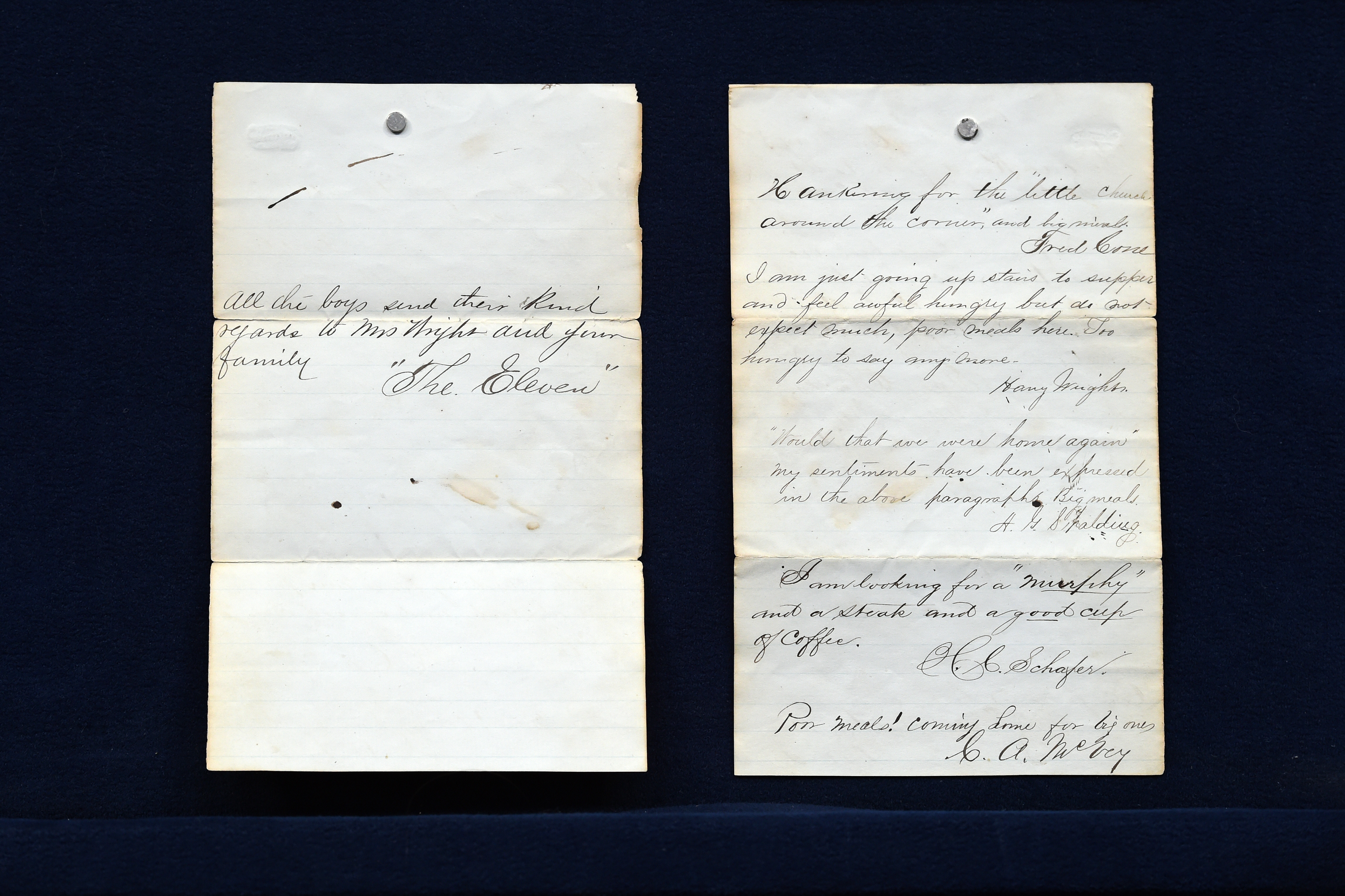1870s Boston Red Stockings letter