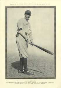 Photoengraving: 1913 Police Gazette Supplement of Joe Jackson