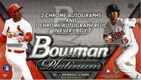 Bowman Platinum 2014 box