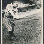 Babe Ruth 1927 swing photo
