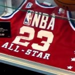 Autographed Michael Jordan UDA jersey