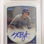 Kris Bryant 2013 Bowman Chrome Draft pick autograph