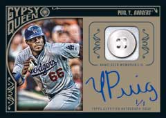 Black Button Parallel 2015 Topps Gypsy Queen