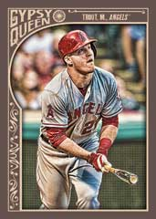 Mike Trout 2015 Topps Gypsy Queen