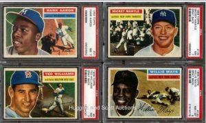 1956 Topps set