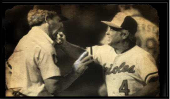 Excessively feisty Earl Weaver by Owen C. Shaw