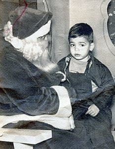 Owen Shaw as a youngster, probably asking Santa for baseball cards.