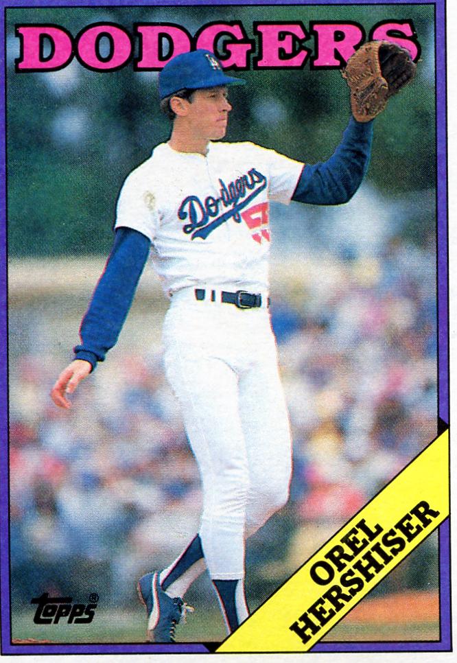 Orel Hershiser 1988 Topps