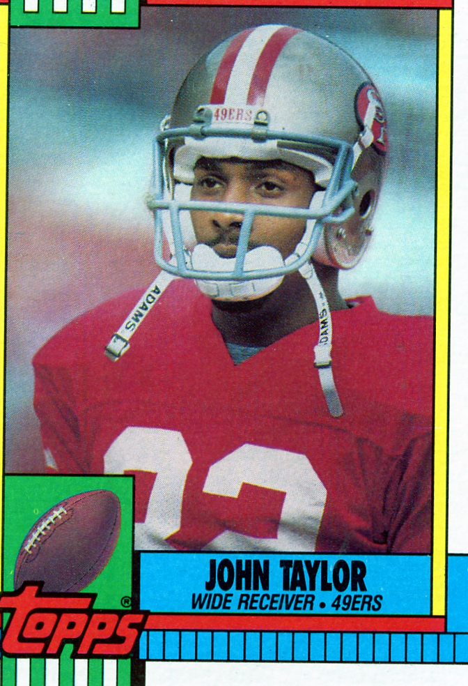 John Taylor 1990 Topps