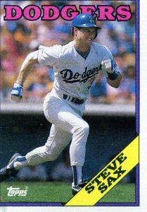 Steve Sax 1988 Topps