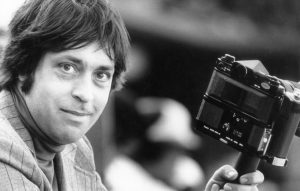 """""""My rookie year in baseball. Photo of me at Memorial Stadium shooting the Orioles circa 1982. Back in the days of film and manual focus. With my 300 2.8 Fluorite Canon lens."""""""