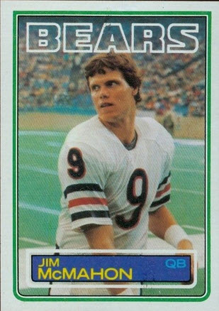 Jim McMahon 1983 Topps