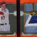 2014 Triple Threads Mike Trout relic patch