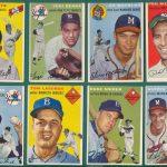 Topps 1954 baseball cards