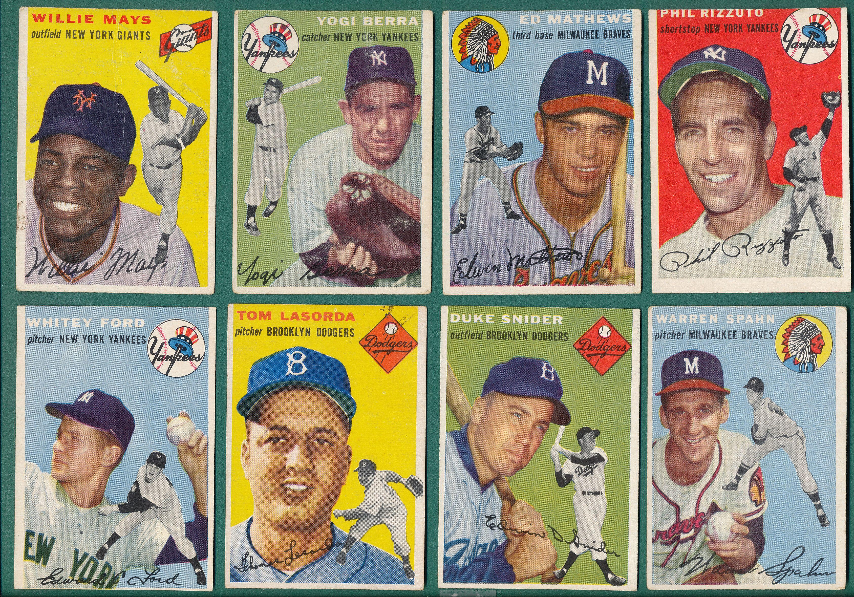 Vintage Baseball Card Set Break Proves a Hit