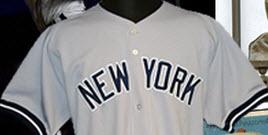 1998 Derek Jeter Yankees road jersey