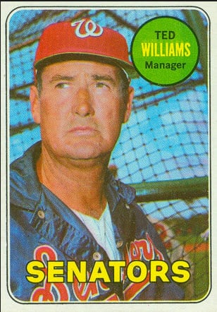 Ted Williams 1969 Topps