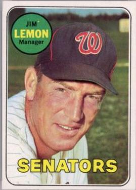 1969 Topps Jim Lemon