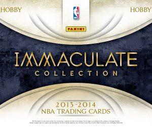 Panini Immaculate 2013-14 basketball