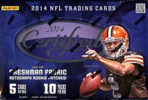 Unopened box 2014 Panini Certified